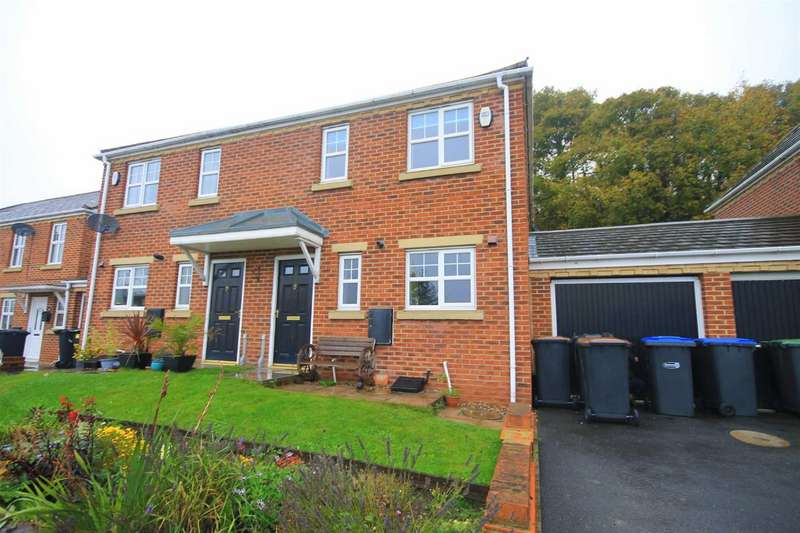 3 Bedrooms Semi Detached House for rent in Woodside, Shadforth, Durham