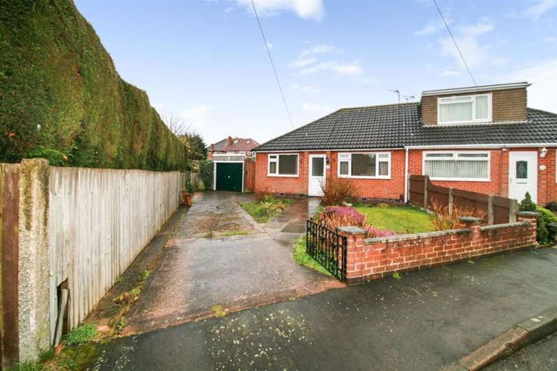 2 Bedrooms Bungalow for sale in Hazel Close, Leicester