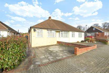 2 Bedrooms Semi Detached Bungalow for sale in Andover Road, Orpington