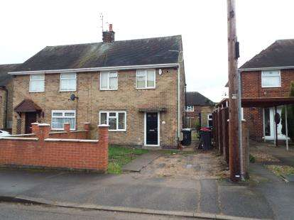 2 Bedrooms Semi Detached House for sale in Thorn Grove, Hucknall, Nottingham, Nottinghamshire