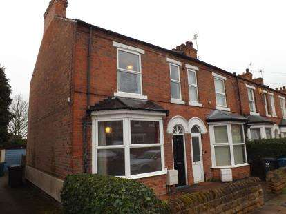 2 Bedrooms End Of Terrace House for sale in Byron Road, West Bridgford, Nottingham, Nottinghamshire