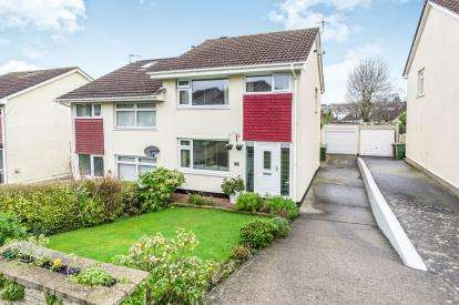 3 Bedrooms Semi Detached House for sale in Goosewell, Plymouth, Devon