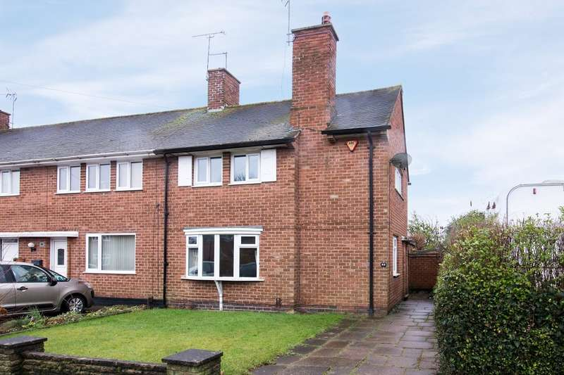2 Bedrooms End Of Terrace House for sale in Roseleigh Road , Rubery, B45