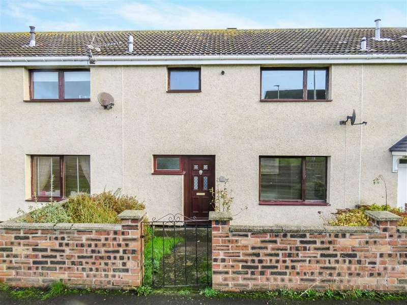 3 Bedrooms Terraced House for sale in Highcliffe Spittal, Berwick-upon-Tweed