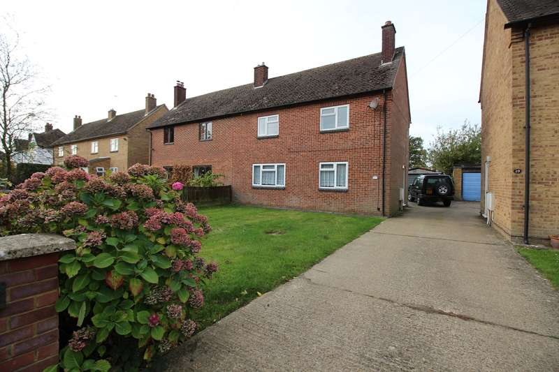 3 Bedrooms Semi Detached House for rent in Mill Way, Breachwood Green, Hitchin, SG4