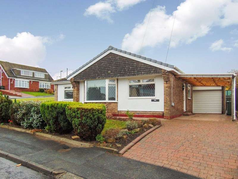 2 Bedrooms Bungalow for sale in Sevenoaks Drive, Hastings Hill, Sunderland, Tyne and Wear, SR4 9NN