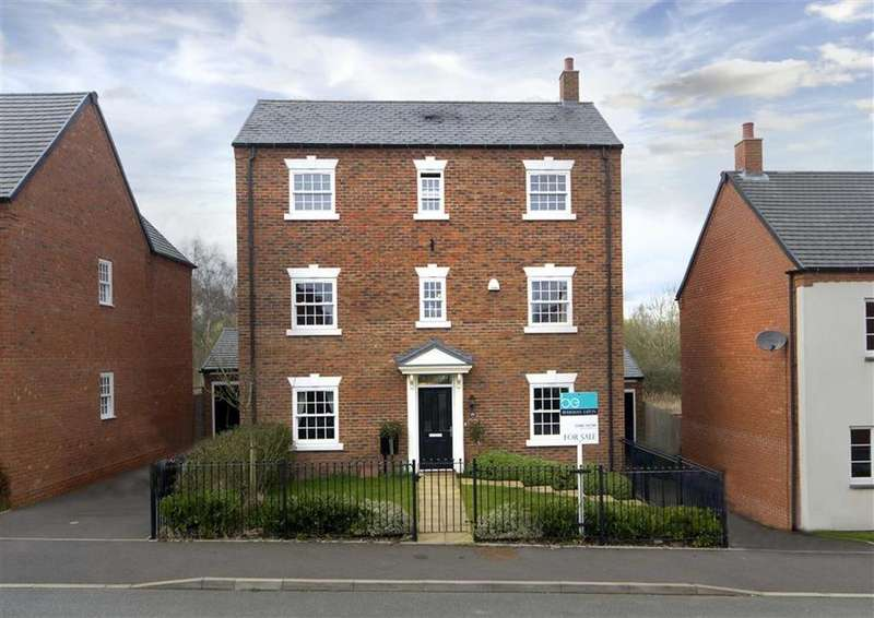 5 Bedrooms Detached House for sale in 29, Deacons Field, Brewood, Stafford, South Staffordshire, ST19