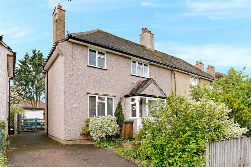 3 Bedrooms Semi Detached House for sale in Penn Road, Mill End, Rickmansworth, Hertfordshire, WD3