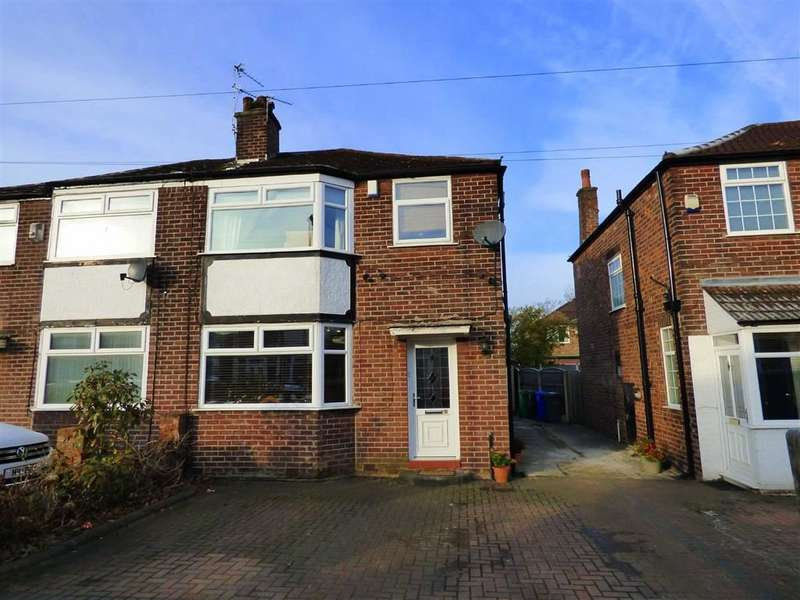 3 Bedrooms Semi Detached House for sale in Pearn Avenue, Burnage, Manchester, M19