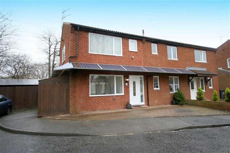 2 Bedrooms Semi Detached House for sale in Sharnford Close, Backworth, Tyne & Wear, NE27