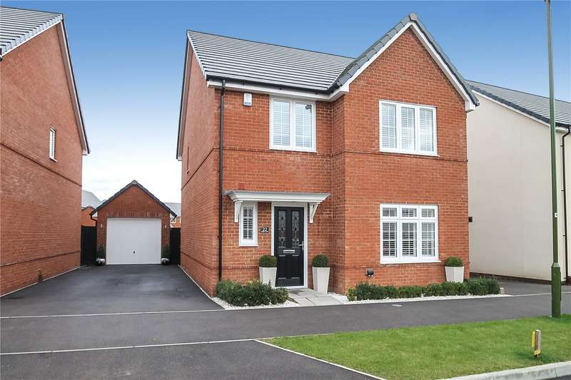 4 Bedrooms Detached House for sale in Battin Lane, Littlehampton, West Sussex, BN17