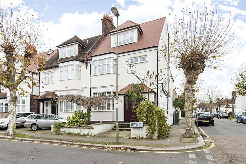5 Bedrooms Semi Detached House for sale in Templars Avenue, London, NW11