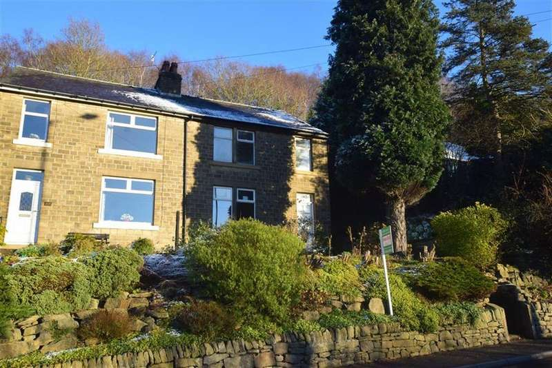 3 Bedrooms Semi Detached House for sale in Scar Wood, New Mill Road, Holmfirth, HD9