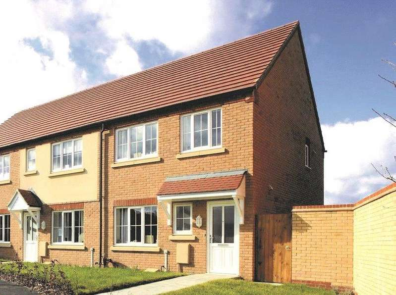 3 Bedrooms End Of Terrace House for sale in Romans Walk, Caistor, LN7