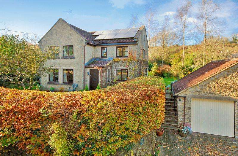 4 Bedrooms Detached House for sale in Westcombe - Between Bruton and Shepton Mallet