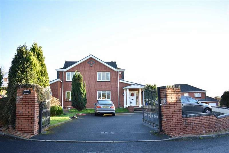 5 Bedrooms Detached House for sale in Sawel Court, Hendy