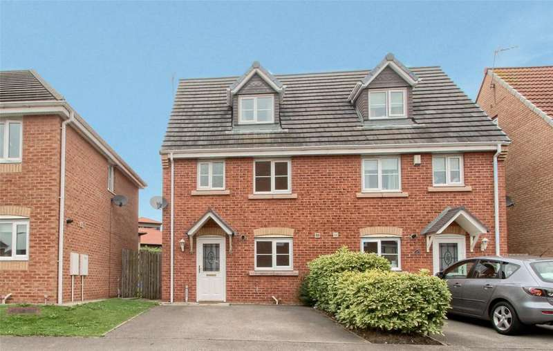 4 Bedrooms Semi Detached House for sale in Nightingale Drive, Stockton On Tees