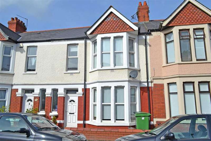 3 Bedrooms Terraced House for sale in LONGSPEARS AVENUE, HEATH/GABALFA, CARDIFF