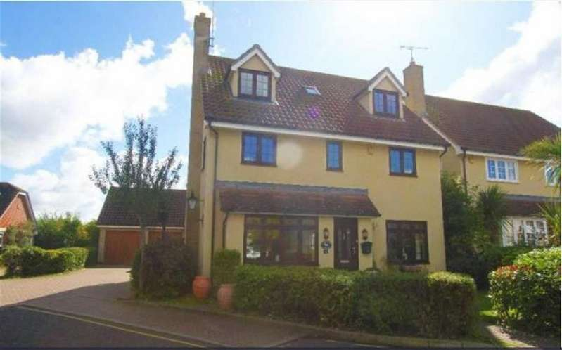 5 Bedrooms Detached House for sale in Oakwood Drive, Billericay