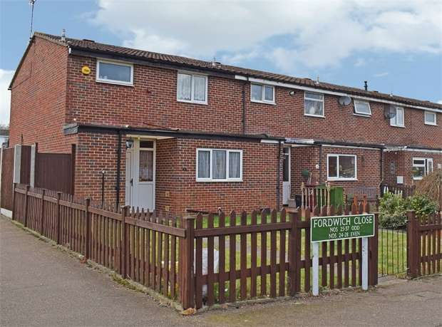 3 Bedrooms End Of Terrace House for sale in Fordwich Close, Orpington, Kent