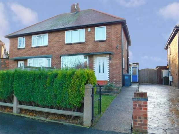 3 Bedrooms Semi Detached House for sale in Shaftsbury Avenue, Woodlands, Doncaster, South Yorkshire