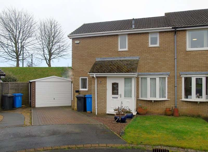 2 Bedrooms Property for sale in Dilston Close, Pegswood, Morpeth, Northumberland, NE61 6TR