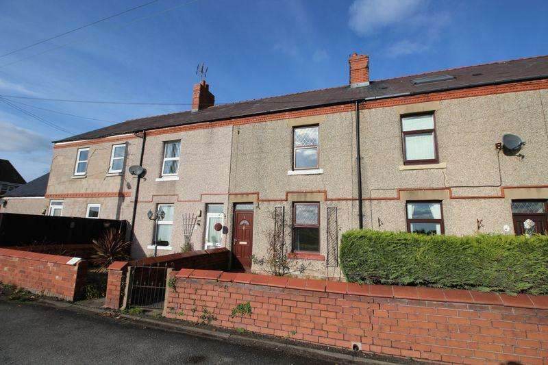 2 Bedrooms Terraced House for sale in Llay Road, Wrexham