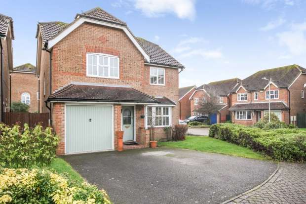 4 Bedrooms Detached House for sale in Atkinson Walk, Ashford, Kent, TN24 9SB