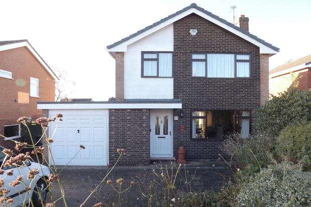 3 Bedrooms Detached House for sale in Dereham Drive, Arnold, Nottingham, NG5