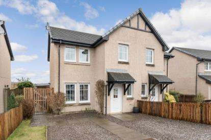 3 Bedrooms Semi Detached House for sale in McAulay Brae, Plean