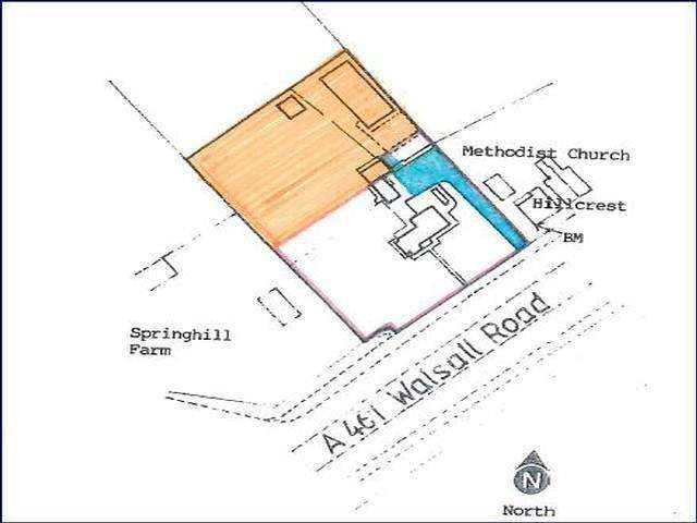Land Commercial for sale in Walsall Road, Lichfield