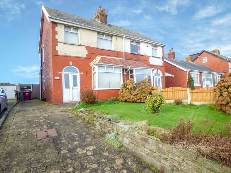 3 Bedrooms Semi Detached House for sale in Fleetwood Road, Bispham, Blackpool