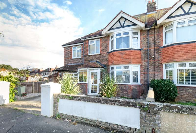 4 Bedrooms End Of Terrace House for sale in George V Avenue, West Worthing, West Sussex, BN11