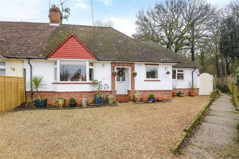 3 Bedrooms Semi Detached Bungalow for sale in Weir Road, Hartley Wintney, Hampshire, RG27