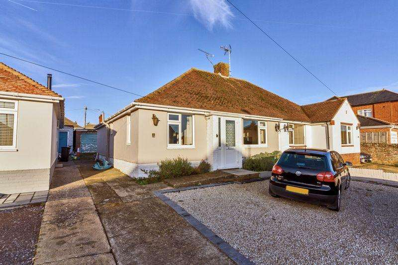 2 Bedrooms Semi Detached Bungalow for sale in Salvington Road, Worthing