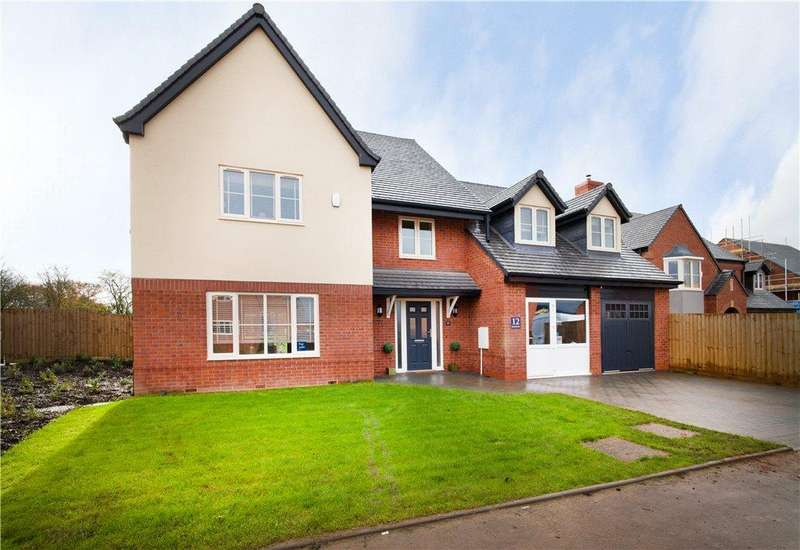 5 Bedrooms Detached House for sale in Spring Meadows, Drake Street, Welland, Worcestershire, WR13