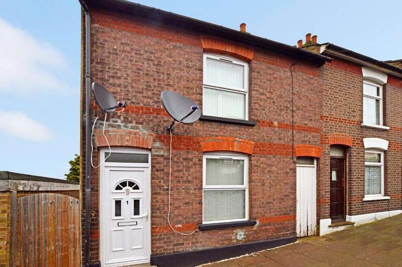 3 Bedrooms End Of Terrace House for sale in Harcourt Street, South Luton, Luton, LU1 3QH