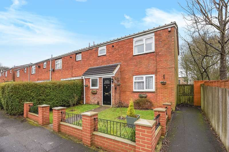 3 Bedrooms End Of Terrace House for sale in Haydn Road, Brighton Hill, Basingstoke, RG22