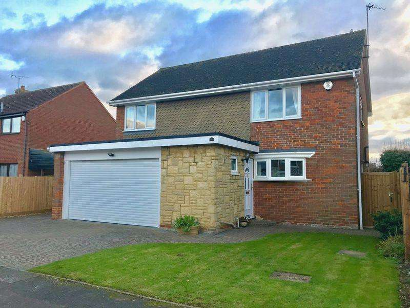 4 Bedrooms Detached House for sale in Jacksons Close, Edlesborough