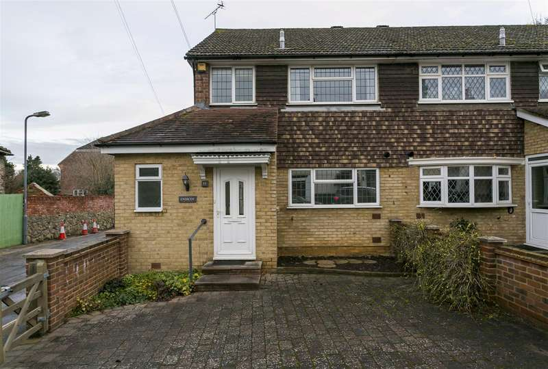 3 Bedrooms Semi Detached House for sale in High Street, East Malling, West Malling