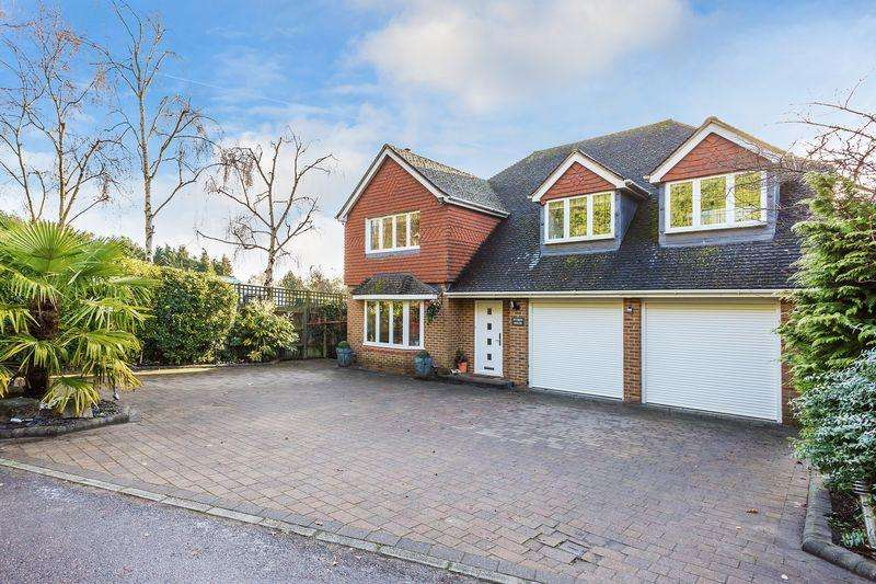 5 Bedrooms Detached House for sale in Perry Hill, Guildford