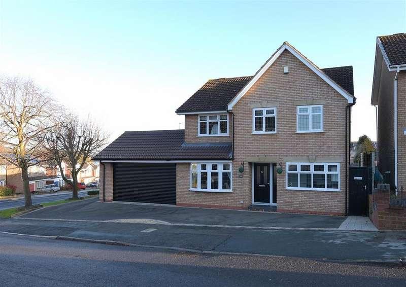4 Bedrooms Detached House for sale in Hambleton Road, Halesowen