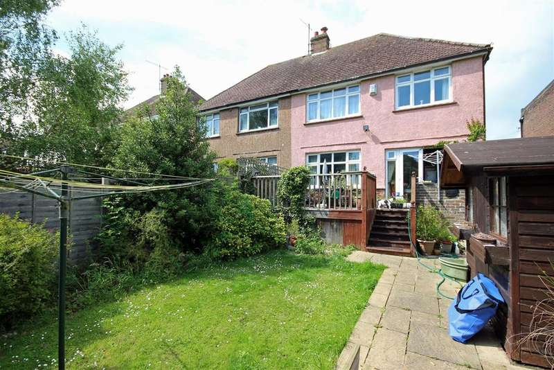3 Bedrooms Semi Detached House for sale in Park Road, Coldean Village, Brighton