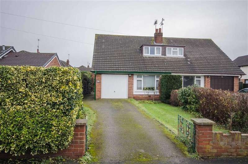3 Bedrooms Semi Detached Bungalow for sale in Heath Lane, Great Boughton, Chester, Chester