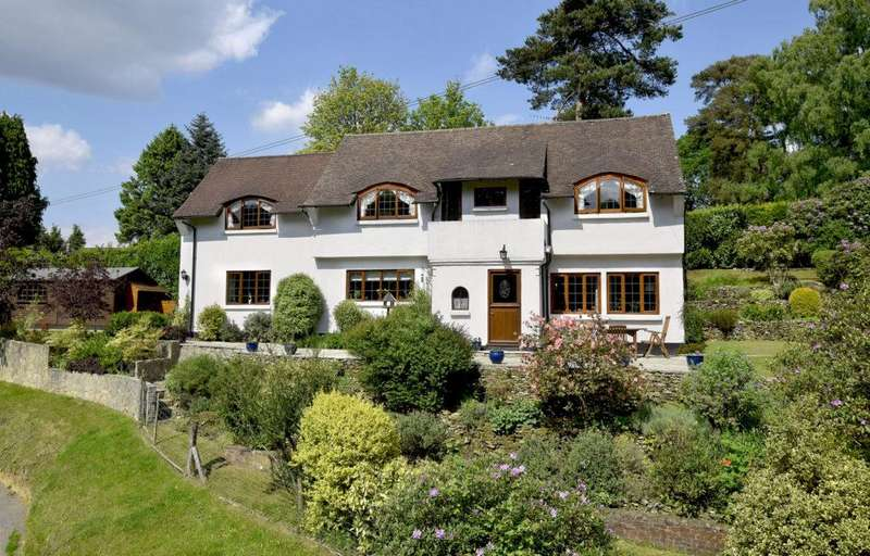 4 Bedrooms Detached House for sale in Sutton Place, Abinger Hammer