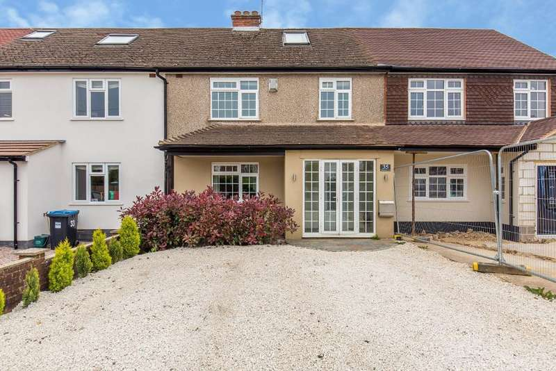 3 Bedrooms Terraced House for sale in Blanchmans Road, Warlingham, Surrey, CR6 9DF