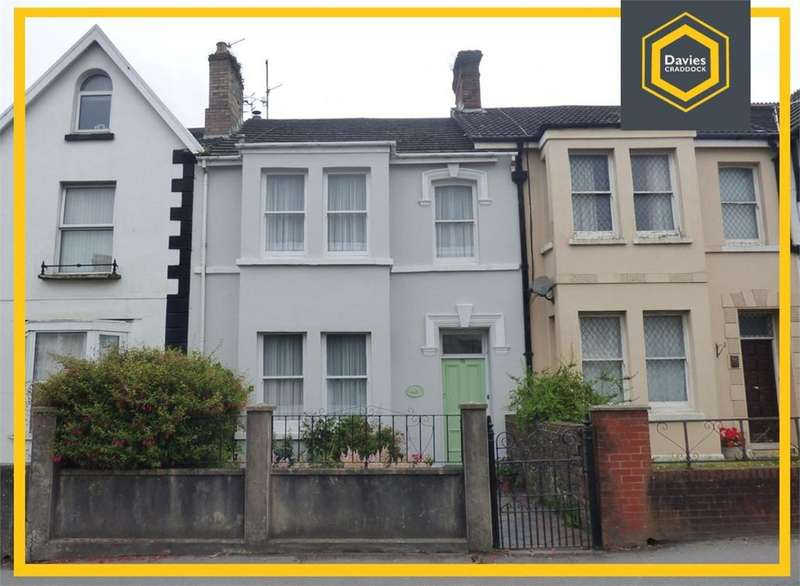 4 Bedrooms Terraced House for sale in 73 New Road, Llanelli, SA15