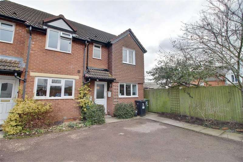 2 Bedrooms End Of Terrace House for sale in Glebe Court, Newent, Gloucestershire