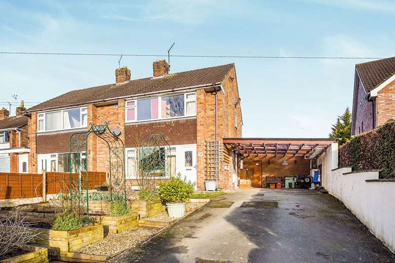 3 Bedrooms Semi Detached House for sale in Laburnum Drive, Oswestry, SY11