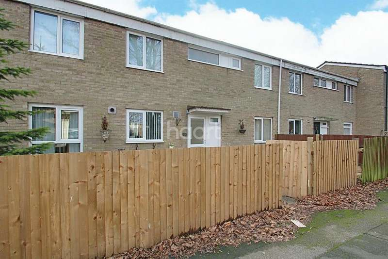 4 Bedrooms Terraced House for sale in Beverley Road, Wellfield Wood, Stevenage